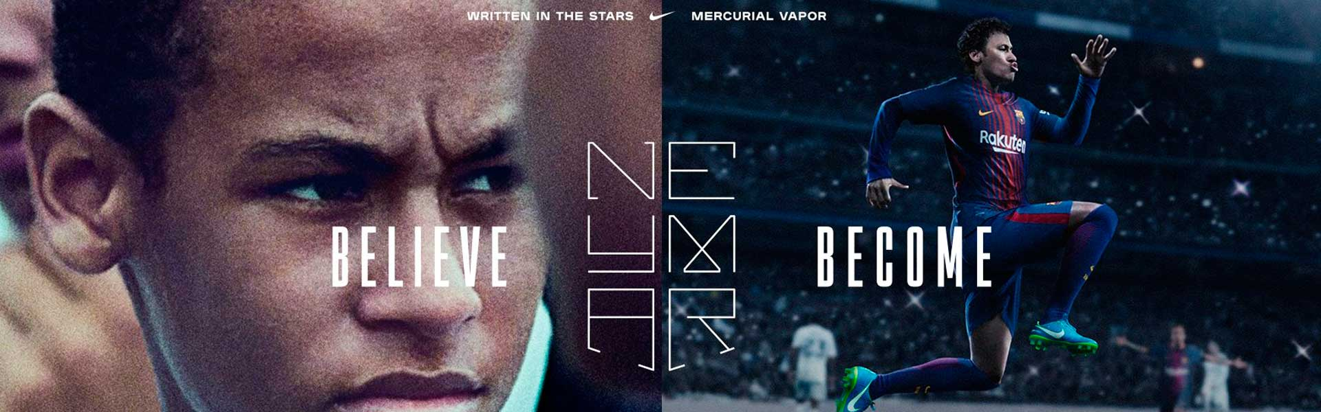 Neymar - Believe, Become