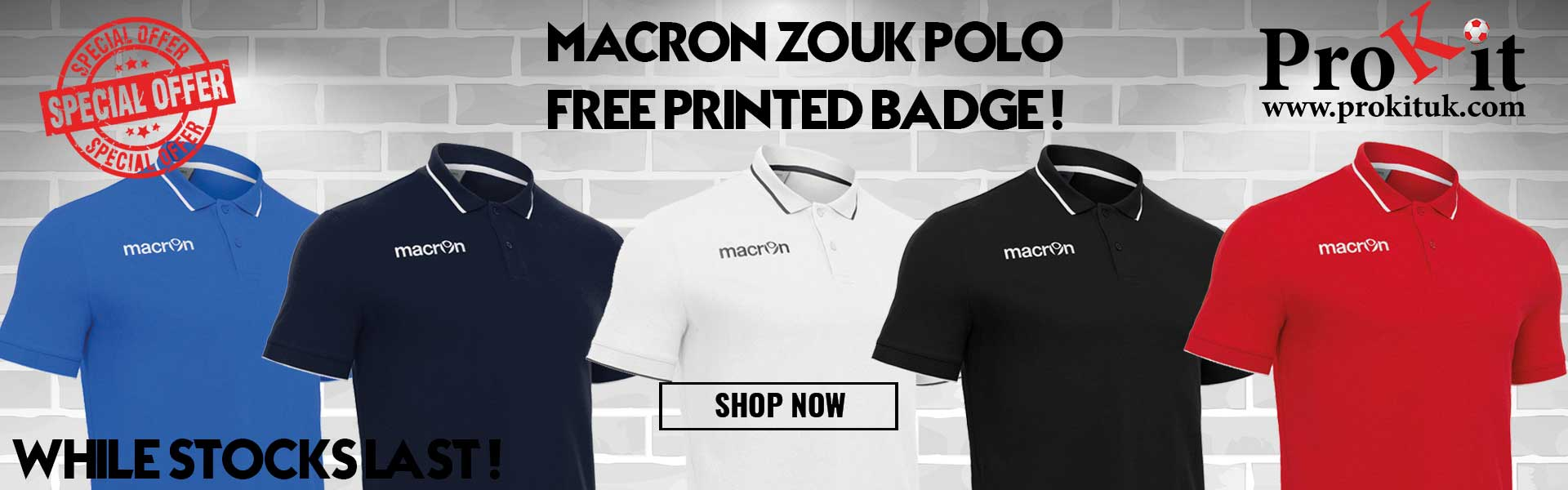 Macron Zouk Polo Offer
